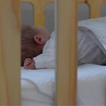 baby slaapt heerlijk