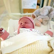 foto baby geboren in het ziekenhuis