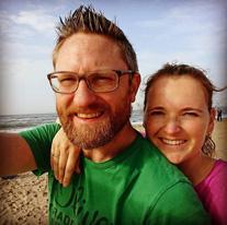 gelukkig stel blog zwanger worden