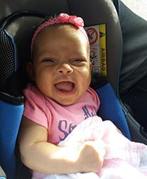 meisje 3 maanden