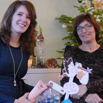 mooie zwangerschapsketting voor kerst