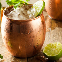 Alcoholvrije Moscow Mule