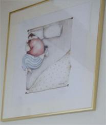 poster babykamer idee