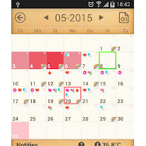 Review cyclus kalenderperiod tracker menstruatiecyclus
