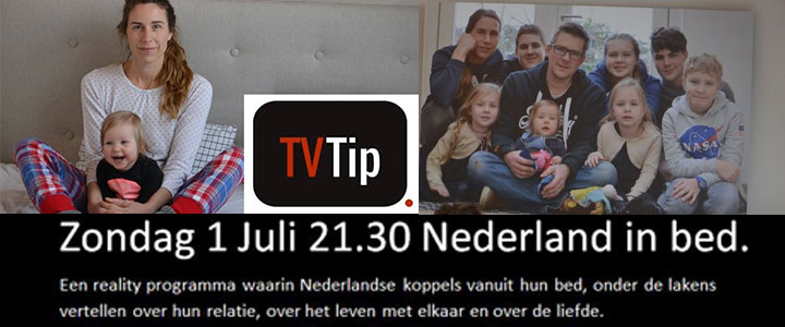 Annemarie in TV programma Nederland in bed