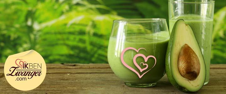 Tussendoortje van de week: Romige avocao smoothie