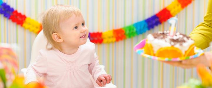 Hiep hiep hoera babys 1e verjaardag!