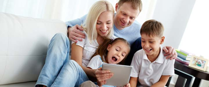 Familj testet
