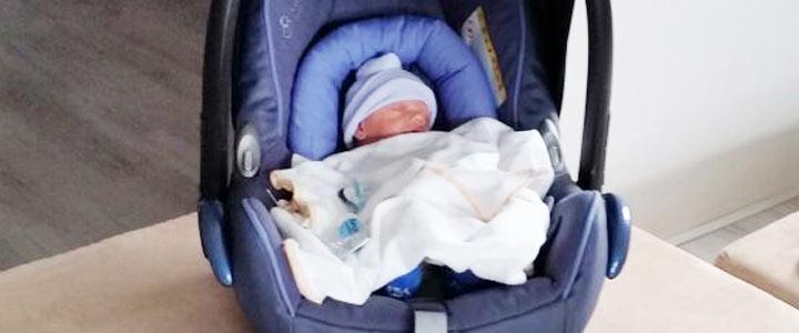 Onze zoon is 36 weken en mag mee naar huis