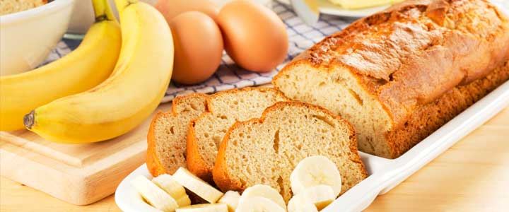 Recept bananenbrood met havermout