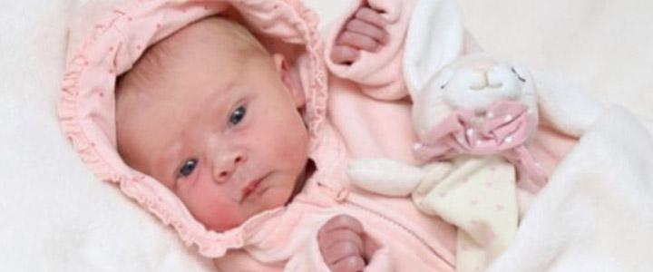 De kleine meid is geboren!