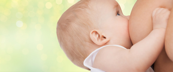 Houdingen om borstvoeding te geven