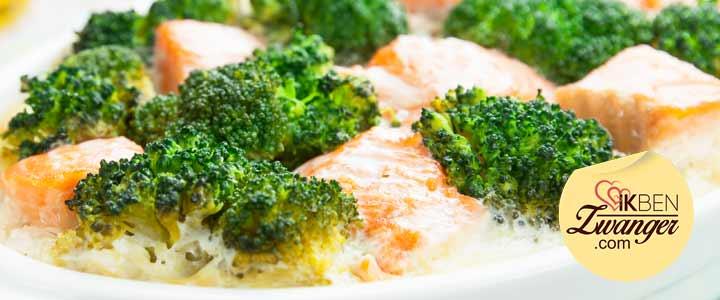 Recept van de week: Lichte broccoli zalm ovenschotel