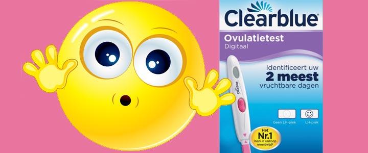 Ovulatie stress test met ovulatietestset