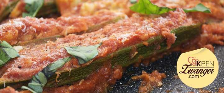 Recept van de week: Courgettes met gevulde tonijn