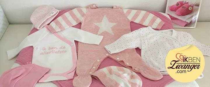 Het eerste babypakje uitkiezen