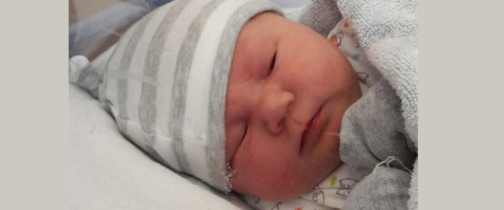 Persen met vacuümpomp geboorte Amy