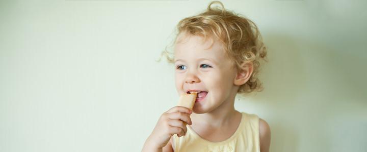 Kindermarketing en recepten gezonde babykoekjes
