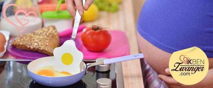 zwanger meer eten
