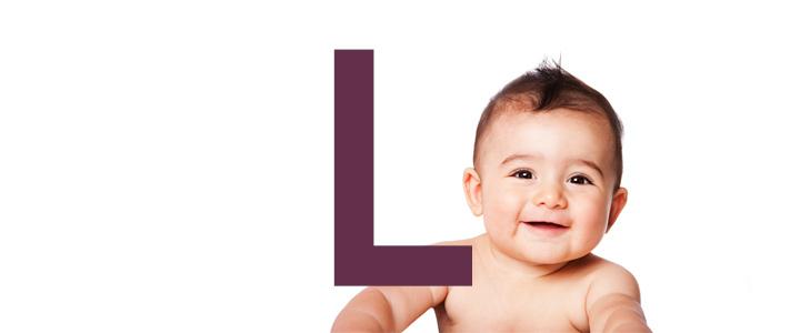 Jongensnamen met een L
