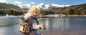 Actieve wandelvakantie en kamperen met je peuter