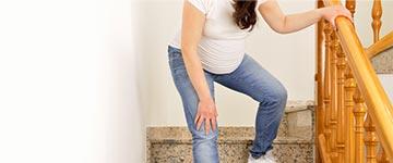 gevallen van trap tijdens zwangerschapsdiabetes
