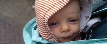 Wat het betekent een baby met reflux te hebben