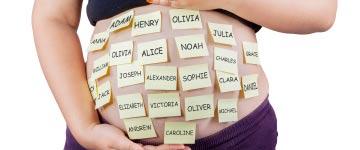 Voorspelling van populaire voornamen voor je baby en hippe babynamen