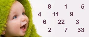 Babynaam numerologie berekenen en betekenis