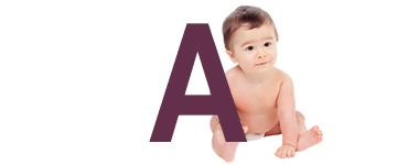 Babynamen met een A