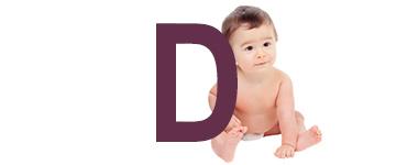 Babynamen eindletter D