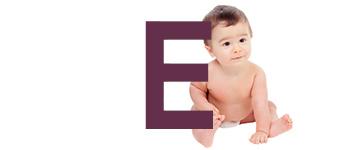 Babynamen met een E