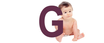 Babynamen met een G