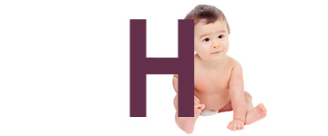 Babynamen eindletter H