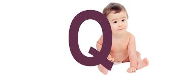 Babynamen met Q