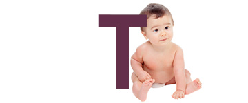 Baby names with T