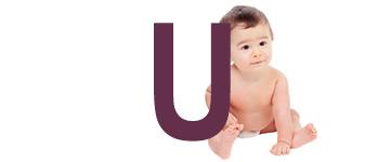 Babynamen met U