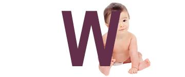 Babynamen met W
