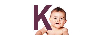 Jongensnamen met K