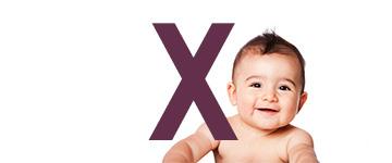 Nombres de niño con X