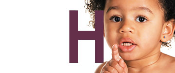 Nombres de niña con H