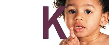Meisjesnamen met een K