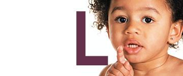 Girl names end letter L
