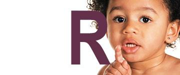 Meisjesnamen met een R