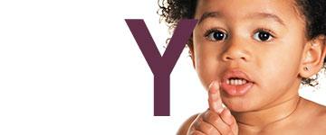 Meisjesnamen met een Y