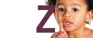 Meisjesnamen met Z