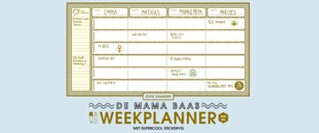 Waarom een weekplanner onmisbaar is voor (werkende) ouders