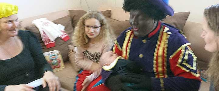 Eerste Sinterklaasfeest met een baby erbij
