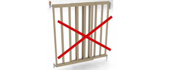 Waarschuwing Noma houten traphekje is gevaarlijk