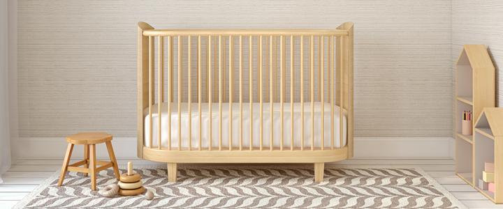 Affordable veilig babymatras voor babybed wieg of ledikant for Tweeling ledikant